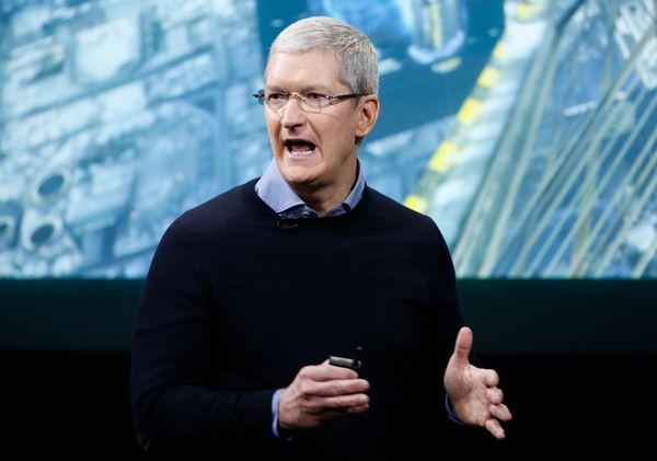 Apple CEO, 55
