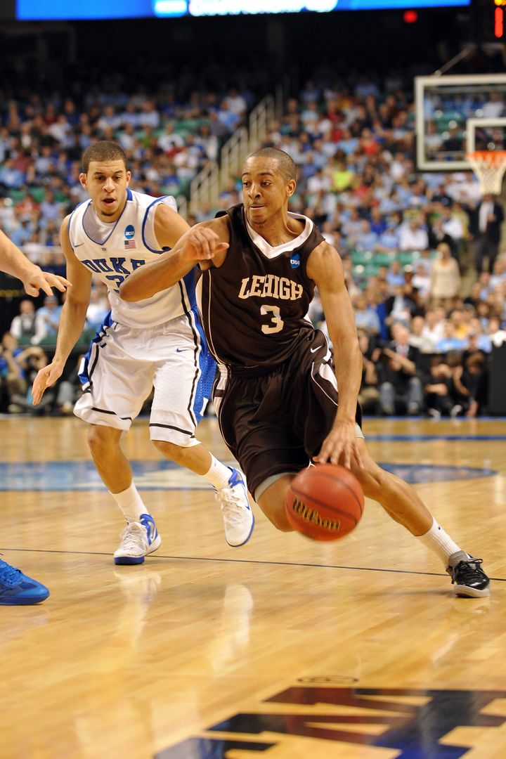 McCollum's 30-point outburst against second seeded Duke propelled Lehigh to the first NCAA Tournament win in school history.