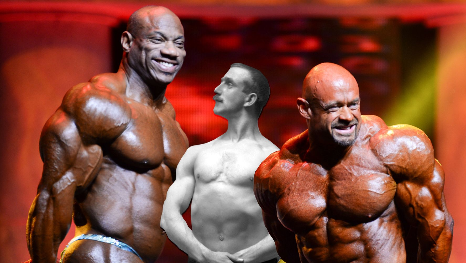 A Century Of Bodybuilding Photos Show A Marked Shift In Our Perception Of Body Image Huffpost Life