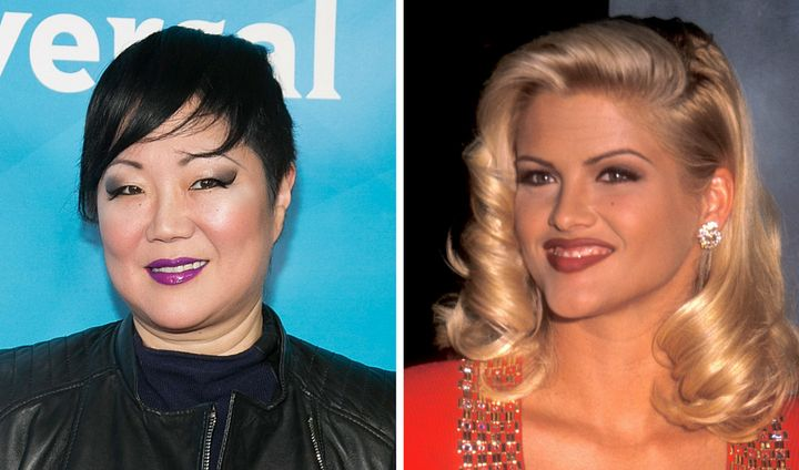 """I think that her grief was overwhelming,"" Margaret Cho told Menounos of her friend, Anna Nicole Smith. ""Her son had died, an"