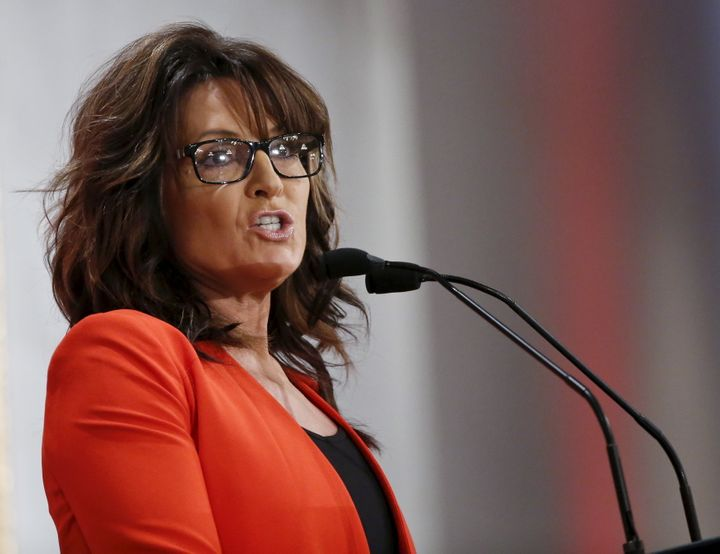Sarah Palin, who ran for vice president in 2008.