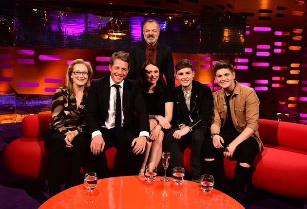 Meryl Streep appears on this week's 'Graham Norton Show' with Hugh Grant, Keeley Hawes and Eurovision...