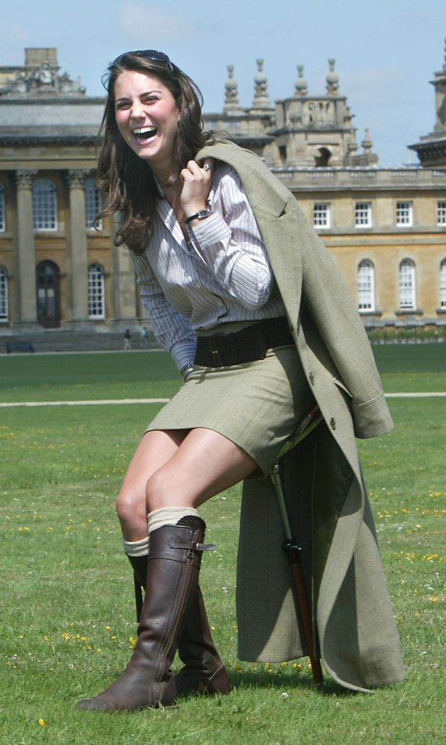 Duchess Of Cambridge Wears Old Favourites Penelope Chilvers Riding Boots To Go