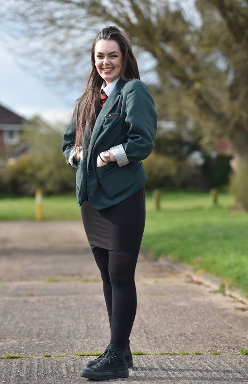 Beautiful Pupils From Walkwood Church Of England Middle School In Redditch, Worcestershire, Were Told To Wear Trousers From September Amid Concerns Over Their Shrinking Hemlines The School Will Also Ban Female Pupils From Donning Blouses
