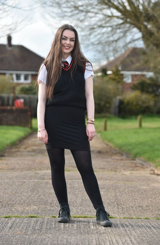 School Sends Girls Wearing Short Skirts Home To Stop 'Boys Peering Up When  They'