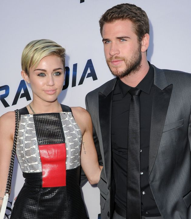 Liam and Miley in 2013, before their previous