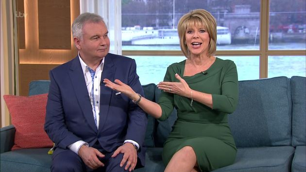James will host 'This Morning' alongside Ruth Langsford, as Eamonn Holmes has a day