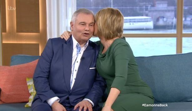 Eamonn has been off duty from 'This Morning' after having a double hip