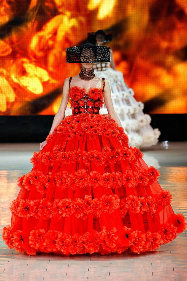 Designers including the late Alexander McQueen, Vivienne Westwood and Zandra Rhodes have all been inspired...