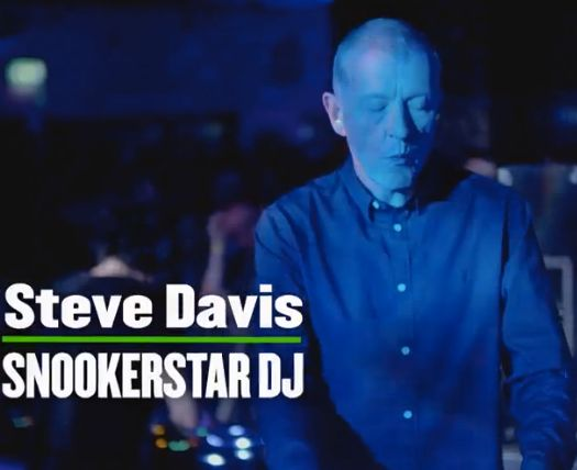 It's Steve Davis, as we've never seen him in action