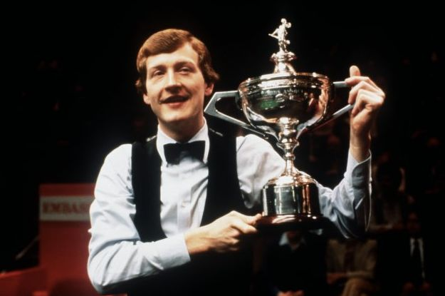 Steve Davis was six-times world snooker champion and appeared utterly, defiantly boring in comparison...