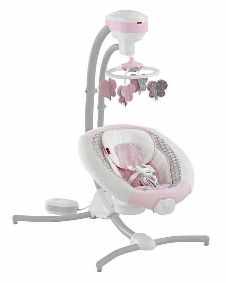 Fisher Price Recalls 3 Models Of Infant Cradle Swings