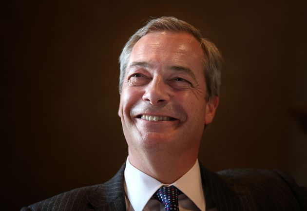 Nigel Farage previously said the 'time had come' to legalise 'certain
