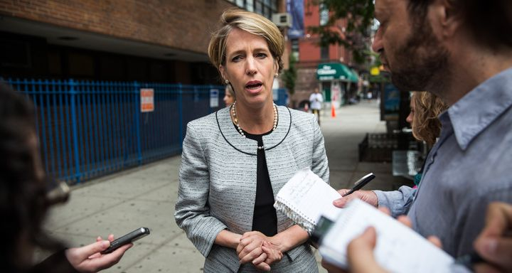 Zephyr Teachout thinks the broadband is too damn high.  (Photo by Andrew Burton/Getty Images)