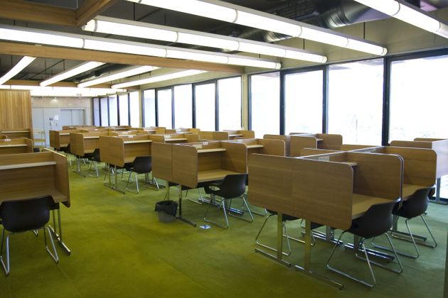 A file photo of a study room at Queensland University of