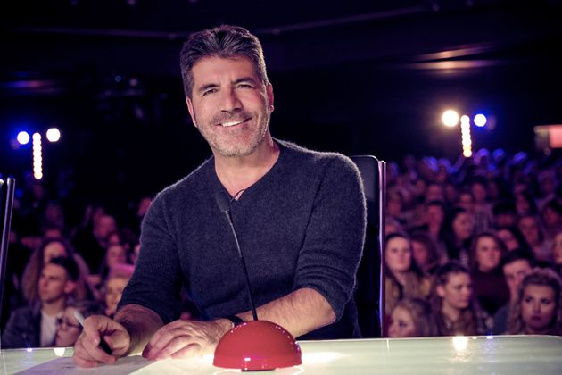 He may be all smiles here, but Simon Cowell was not happy with Alesha