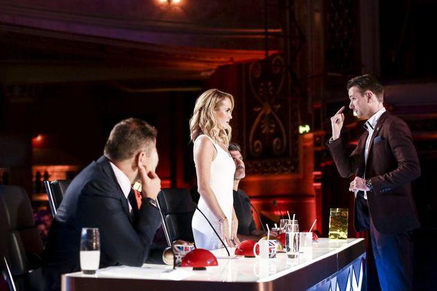 Richard Jones performed a magic trick for 'Britain's Got Talent'