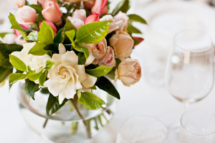 It's possible to donate your wedding flowers or gift them to your guests.