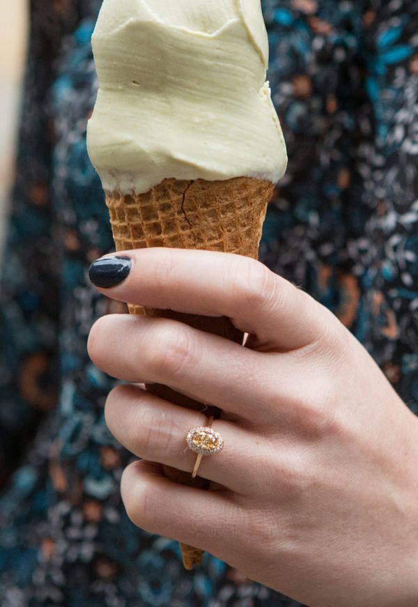 21 engagement rings that are perfect for the unconventional bride huffpost - Unconventional Wedding Rings
