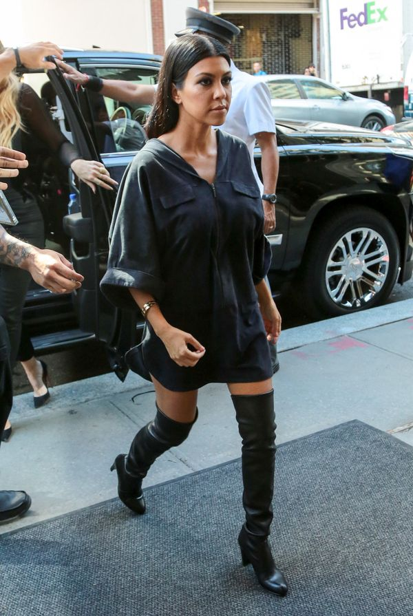 Kourtney Kardashian Totally Understands The Petite Clothes