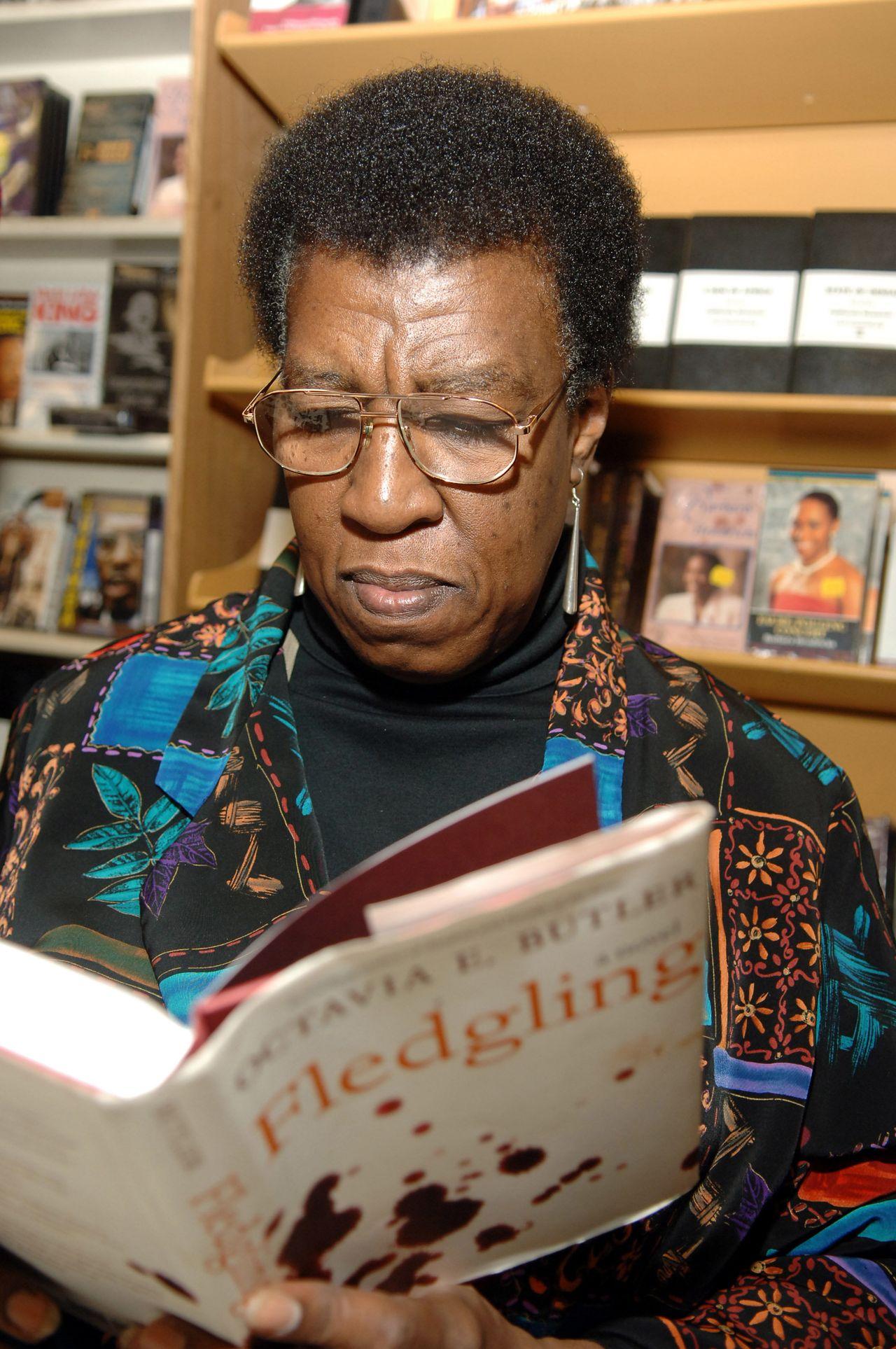 American sci-fi writer Octavia E. Butler (1947-2006).