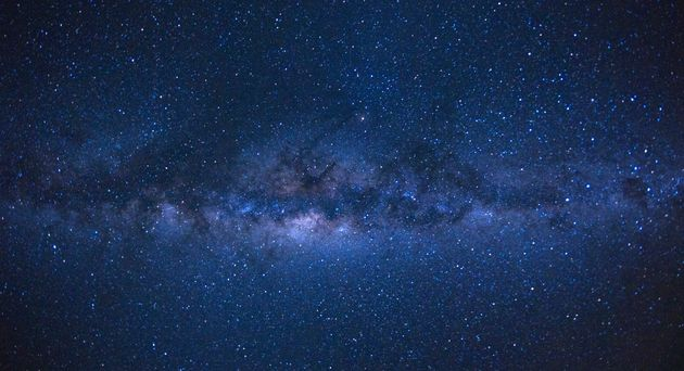 Our Milky Way galaxy, as seen from the French island of Reunion in the Indian Ocean.  There...