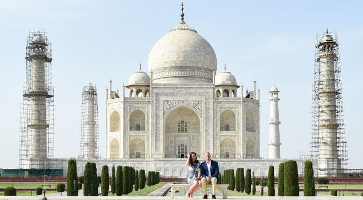 The Taj Mahal is regarded in India as a symbol of love.