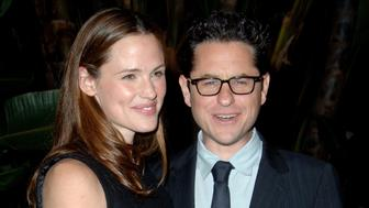 Jennifer Garner and J.J. Abrams during Children's Defense Fund's 16th Annual Los Angeles Beat the Odds Awards - Arrivals at Beverly Hills Hotel in Beverly Hills, California, United States. (Photo by Jon Kopaloff/FilmMagic)