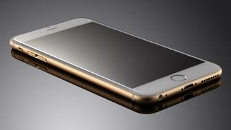 An Apple iPhone 6 Plus, taken on September 24, 2014. (Photo by Neil Godwin/MacFormat Magazine via Getty Images)