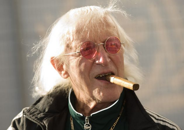 The BBC defended the decision to use Savile's image, saying the show was set in an authentic