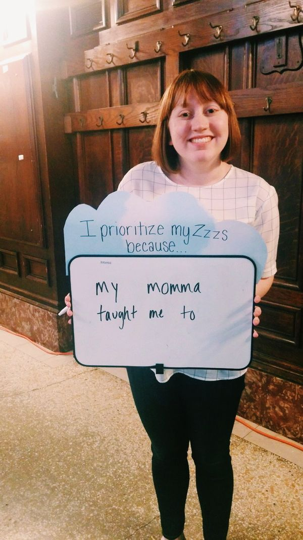 HuffPost student blogger Rachel Williams explains why she prioritizes her Zzzs.