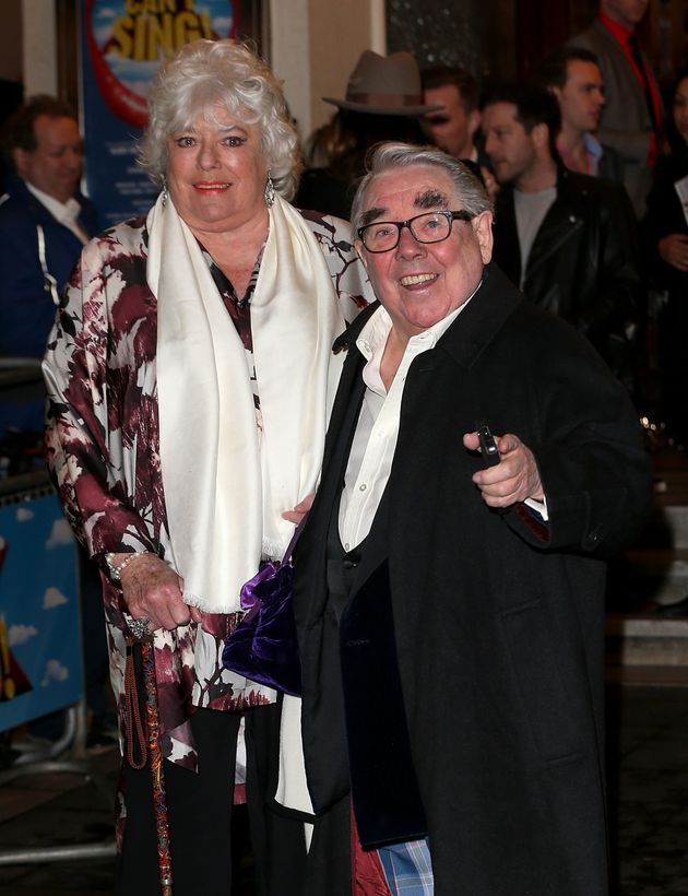 Anne will be able to attend her husband Ronnie's farewell today, following a health
