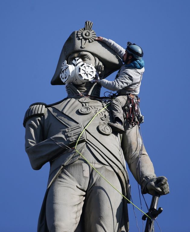 Lord Nelson sporting a