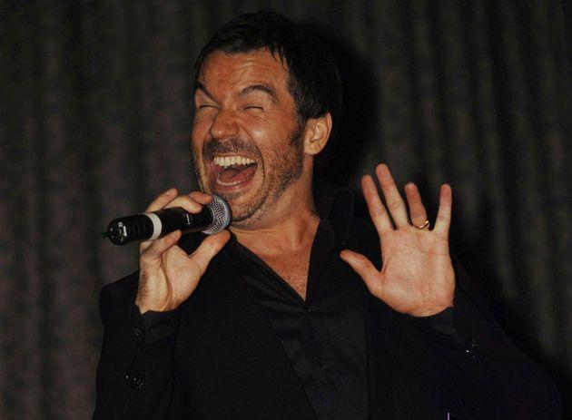 Steve Brookstein won The X Factor in