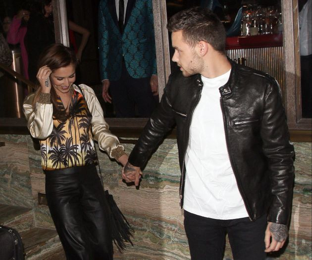 Cheryl and her new squeeze, Liam Payne, on a night out in