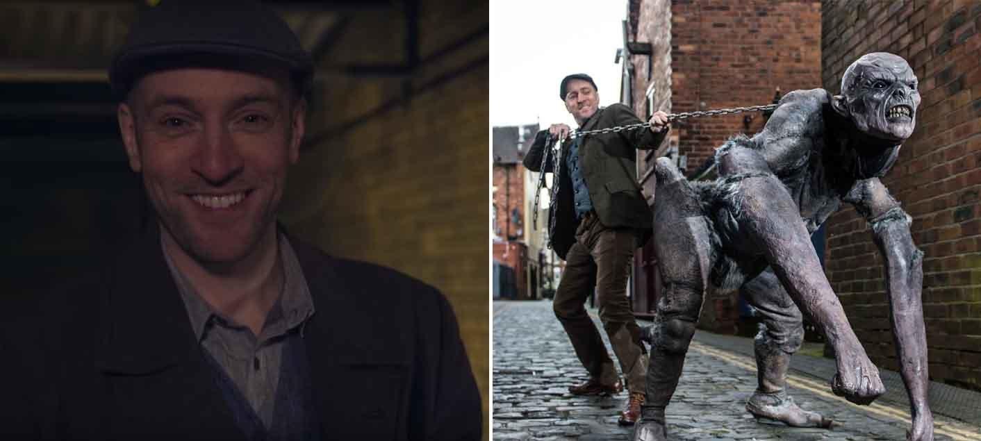 Derren Brown Terrorises People With Horrific 'Demon'