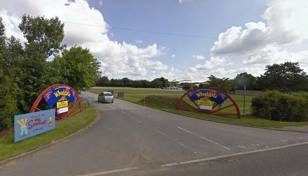 The boy collapsed at Wheelgate Park in