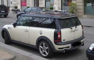 State police say they recovered Mittendorf's Mini Cooper, pictured, atShenandoah National Park on Saturday night.