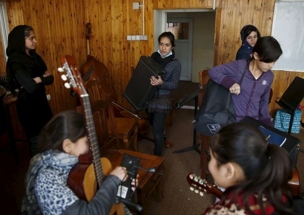 In a country notorious internationally for harsh restrictions on women in most areas of life, the all-female orchestra's&nbsp