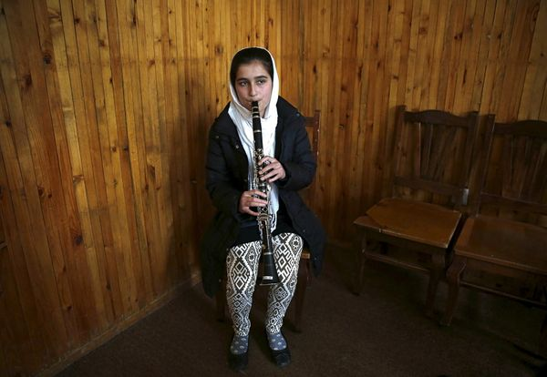 While some children at the music institute have the support of their parents, they often face pressure from their wider