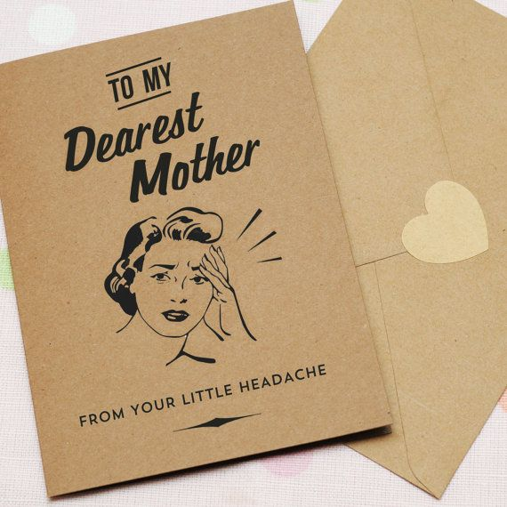 "<i>Buy it <a href=""https://www.etsy.com/listing/268833754/little-headache-mothers-day-card?ga_order=most_relevant"" target=""_b"