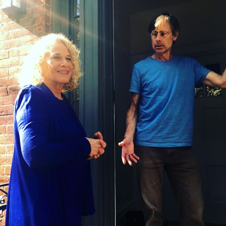 Carole King meets John, a West Village resident who isn't sure if he's going to vote in November.
