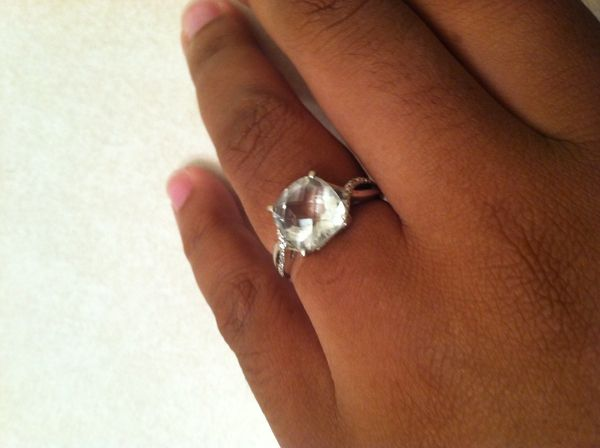 21 engagement rings that are perfect for the unconventional bride huffpost. Black Bedroom Furniture Sets. Home Design Ideas