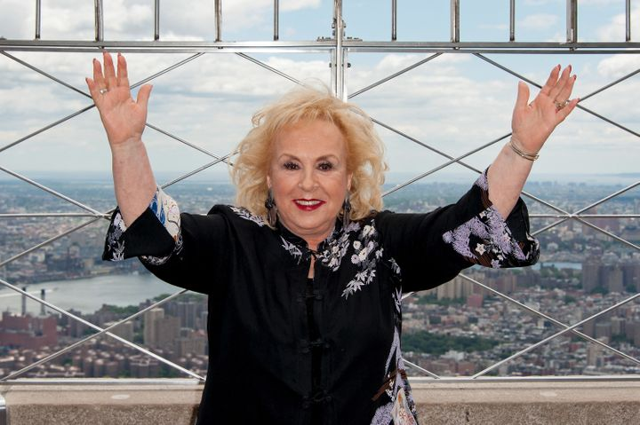 Doris Roberts visits The Empire State Building on June 26, 2012 in New York City.