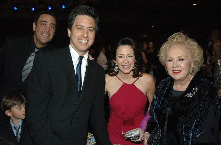 """Brad Garrett, Ray Romano, Patricia Heaton and Doris Roberts of """"Everybody Loves Raymond."""""""