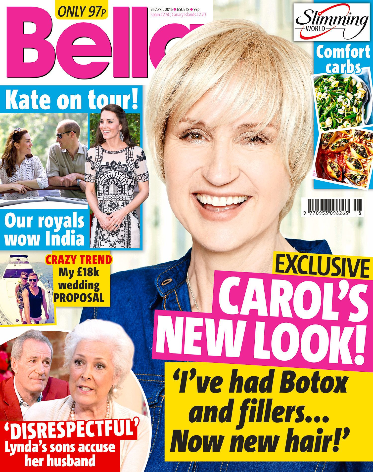 'Loose Women' Star Carol McGiffin Unveils Stunning New