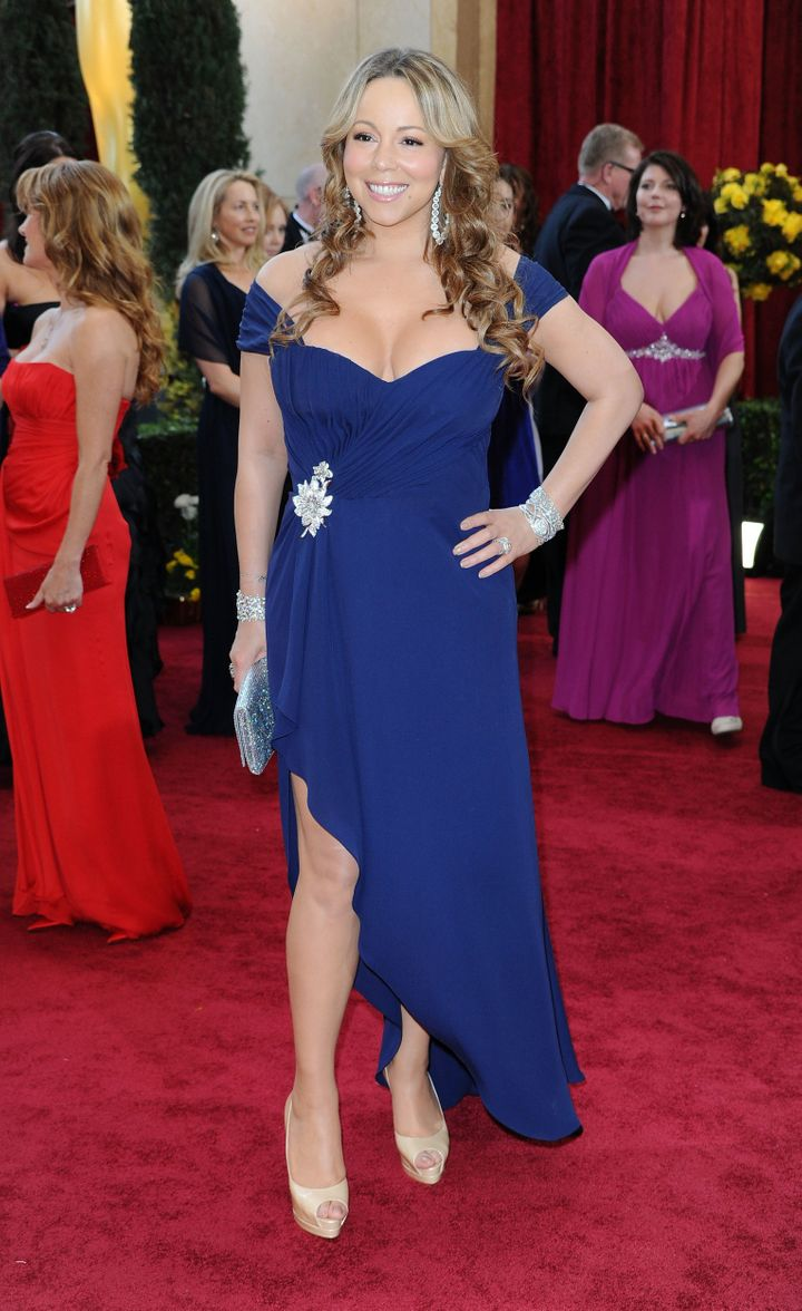 Mariah looking like her usual (fabulous) self.