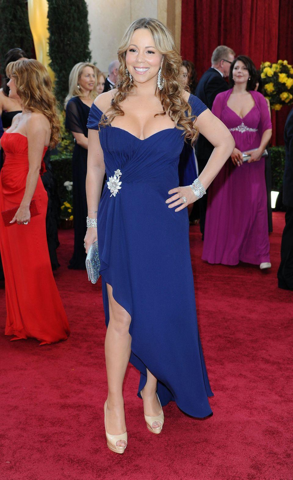 Mariah looking like her usual (fabulous)
