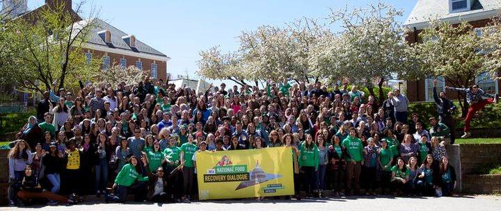 In April 2016, more than 400 students, food activists and industry leaders gathered together to fight food waste during