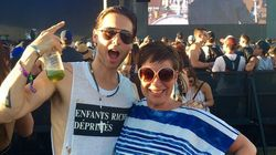 Denise Welch And Jared Leto Give Us Coachella's Most Random Moment